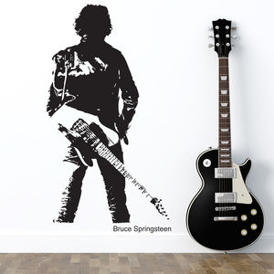 Bruce Springsteen Wall Sticker - office & study