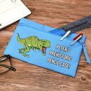 Personalised Pencil Case Blue
