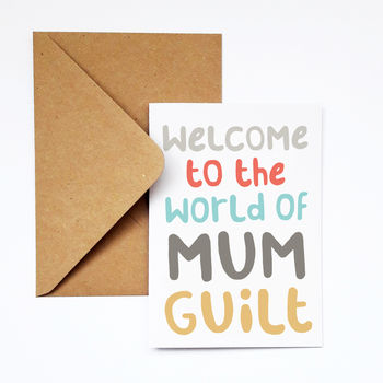 New Mum Funny Congratulations Card