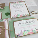 Secret Garden Save The Date Cards