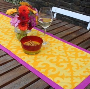 Shyrdak Printed Table Runner - table linen