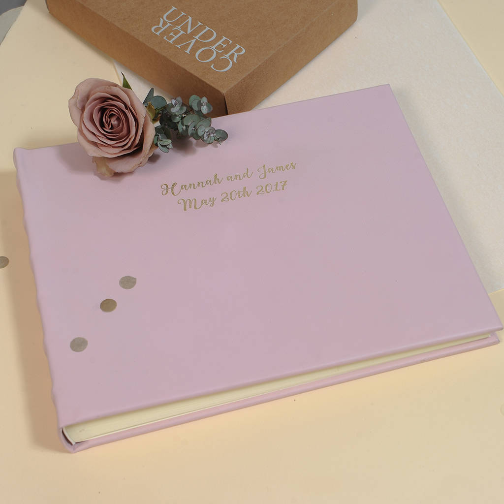 Leather Wedding Photo Album By Undercover