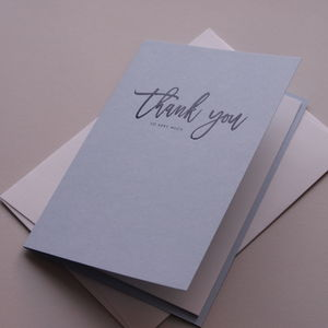 Thank You So Very Much Card - mother's day cards & wrap