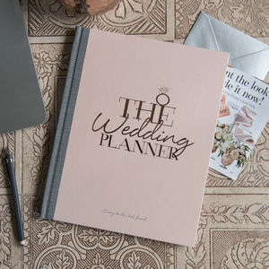 Wedding Planner Notebook And Journal Limited Edition - wedding wedmin