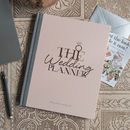Wedding Planner Notebook And Journal Limited Edition