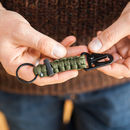 Survival Keyring With Flint