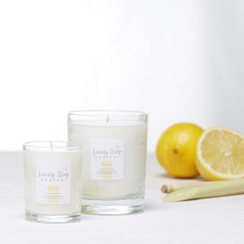 Citrus Scented Natural Candle