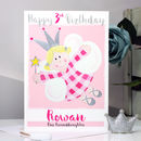 Personalised Fairy Relation Birthday Card