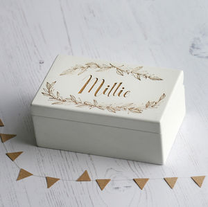 Keepsake Name Music Box - baby & child