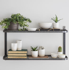 Double Wall Shelf