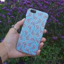 Teal Paisley Pattern Phone Case