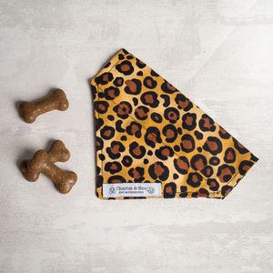 Leopard Dog Bandana/Scarf For Girl Or Boys