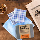 Father's Personalised Handkerchief Set