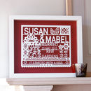 Personalised Wedding Gift For Same Sex Couple