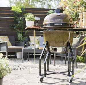 Kamado Medium Bbq Oven - new in garden