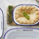 Personalised Enamel Pie Dish For Him