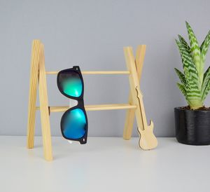 Handmade Sunglasses Storage Stand Guitar