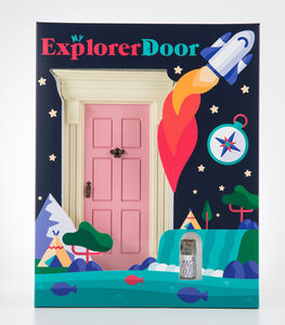 My Explorer Door Pink