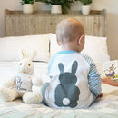 Personalised Bunny Rabbit Children's Pyjamas
