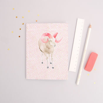 The Ram Aries Zodiac Recycled Paper Notebook