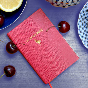 La Vie En Rose Pocket Notebook - notebooks & journals