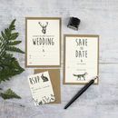 Enchanted Forest DIY Wedding Invitation Set
