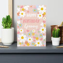 Happy Birthday Granny Greetings Card