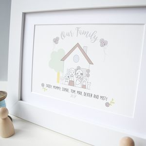 Personalised Family Picture