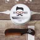 Moustache Comb And Wax For Movember
