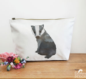 Badger Large Canvas Wash Bag - make-up & wash bags