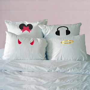 Lense Pillowcases - bedroom
