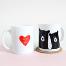 Bear Couple 'Selfie', Personalised Mug