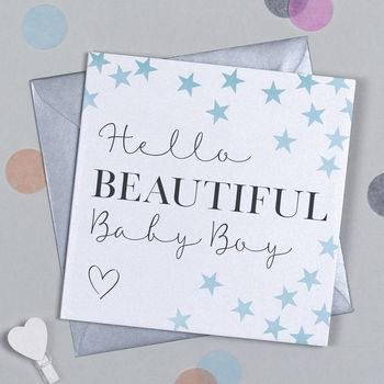 Manhattan Baby Boy Card
