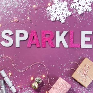 Mini Sparkle Letters - children's room