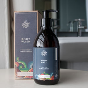 Body Wash, Basil, Lime And Sweet Orange - men's grooming & toiletries