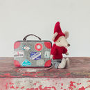 Travel Pixy Mouse In Tin Suitcase