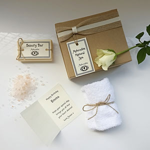 Personalised 'Friendship' Mini Spa Gift Set - what's new