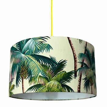 Palm Island Tropical Lampshade