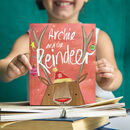 Personalised Christmas Reindeer Story Book