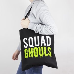 'Squad Ghouls' Halloween Tote Bag - jewellery & accessories