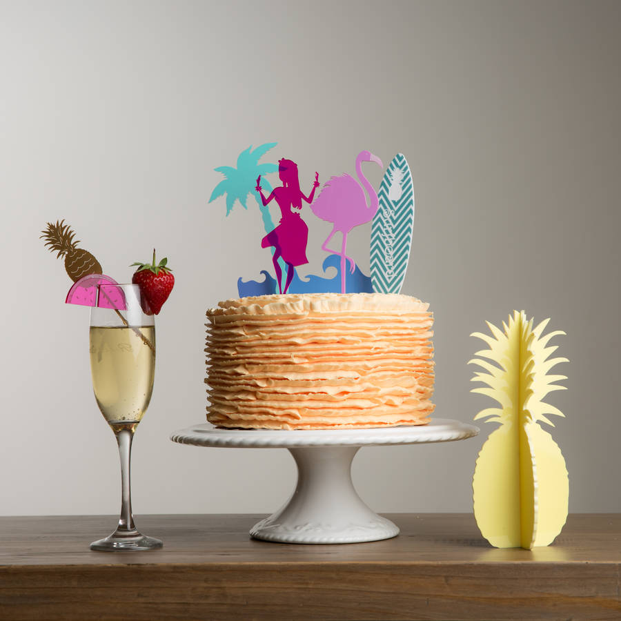 'Summer Party' Decorations Hawaii Theme