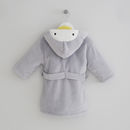 Personalised Penguin Dressing Gown
