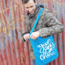 'Give Peas A Chance' Tote Bag 100% Recycled