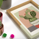 Cactus Needlepoint Kit