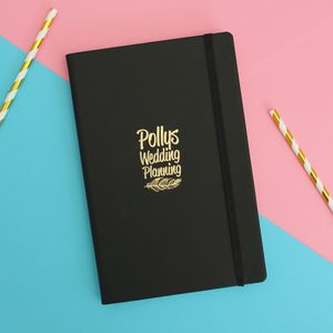 Personalised Wedding Notes Book - engagement gifts