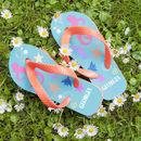 Girls Personalised Flip Flops