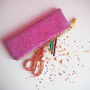 Sparkly Glitter Pencil Case