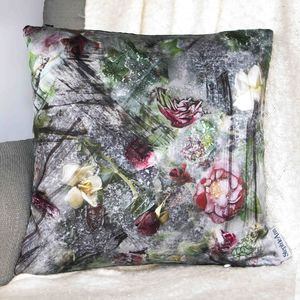 Rose Satin Cushion