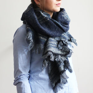 Denim Casual Shawl