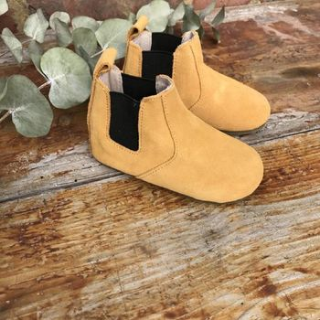 'Ochre Chelsea Boots' For Toddlers And Children